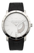 Timepieces:Wristwatch, Bulgari Calibro 131 Stainless Steel Wristwatch. ...