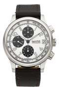 Timepieces:Wristwatch, Eberhard & Co. Traversetolo Chronographe Automatic Wristwatch. ...