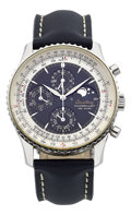 Timepieces:Wristwatch, Breitling Navitimer Montbrillant 1461 Jours Serie Special Wristwatch. ...