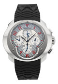 Timepieces:Wristwatch, Franc Vila FVa9 Master Quantieme Calendar Chronograph With MoonPhase, No. 53/88. ...