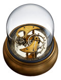 Timepieces:Other , W.H. Bowser Large Lever Escapement Model With Dome, circa 1880's....