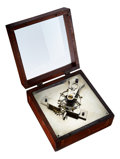 Timepieces:Other , William Gibb Clock Co. Winsted Conn. Early Lateral Lever Escapement Model, circa 1890's. ...