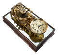 Timepieces:Other , O.W. Dreyer Long Beach Cal. Lever Escapement Model Electric Clock. ...
