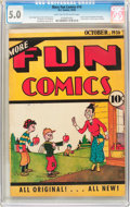 Platinum Age (1897-1937):Miscellaneous, More Fun Comics #14 (DC, 1936) CGC VG/FN 5.0 Light tan to off-white pages....