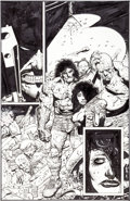 Original Comic Art:Splash Pages, Simon Bisley and Kevin Eastman Bodycount #1 Splash Page 15Original Art (Image, 1996)....