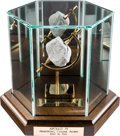 Explorers:Space Exploration, Apollo 11 NASA Authorized Official Lunar Rock Replica, LimitedEdition #10017, in Elegant Display Case. ...