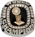 Basketball Collectibles:Others, 2006 Miami Heat NBA Championship Ring Presented to Brother ofAntoine Walker....