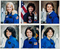 Autographs:Celebrities, Space Shuttle Female Astronauts: Collection of Six Signed ColorPhotos. ... (Total: 6 )