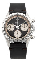 "Timepieces:Wristwatch, Rolex Very Fine & Rare Ref. 6239 ""Paul Newman"" Cosmograph Daytona. ..."