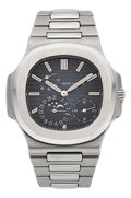 Timepieces:Wristwatch, Patek Philippe Nautilus Ref. 5712/1A-001 With Date, Moon Phases& Power Reserve. ...