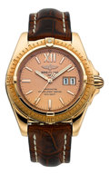 Timepieces:Wristwatch, Breitling Ref. H49350 Limited Edition Windrider Cockpit Rose GoldChronometer, 12/500. ...