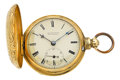 Timepieces:Pocket (pre 1900) , M.I. Tobias & Co. Liverpool Massive Gold Lever Fusee, circa1850. ...