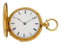 Timepieces:Pocket (pre 1900) , Patek Philippe & Co. Lady's Gold Key Wind, circa 1868. ...