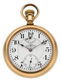 Timepieces:Pocket (post 1900), Ball Watch Co. Rare Official Railroad Standard Pocket Watch With Up/Down Indicator. ...