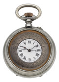 "Timepieces:Pocket (post 1900), Swiss ""Montre Barometer"" Unusual Pocket Watch, circa 1900. ..."