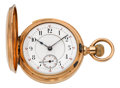Timepieces:Pocket (pre 1900) , Swiss Rose Gold Minute Repeater, circa 1896. ...
