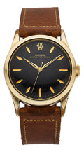 Timepieces:Wristwatch, Rolex Ref. 5506 Vintage Oyster Perpetual Air King, circa 1949. ...