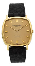Timepieces:Wristwatch, Vacheron & Constantin Automatic Thin Cushion Wristwatch Ref. 7390. ...