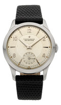 Timepieces:Wristwatch, Zenith Rare & Very Fine Caliber 135 Chronométre Wristwatch, circa 1954. ...