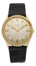 Timepieces:Wristwatch, Rolex Vintage 14k Yellow Gold Wristwatch. ...