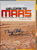 Autographs:Celebrities, Buzz Aldrin Signed Book: Welcome to Mars. ...