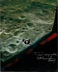 Explorers:Space Exploration, Apollo 10 LM Snoopy Large Color Photo Signed by WaltCunningham and Originally from His Personal Collection. ...