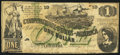 Confederate Notes:1862 Issues, T45 $1 1862 PF-3 Cr. 342A.. ...