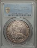 Mexico, Mexico: Charles III 8 Reales 1787 Mo-FM AU Details (Cleaning)PCGS,...
