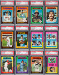 Baseball Cards:Sets, 1975 Topps Extremely Baseball High Grade Complete Set (660). ...