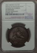 Mexico, Mexico: Augustin Iturbide silver Proclamation Medal 1822 AU Details(Mount Removed) NGC,...