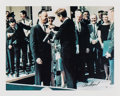 Autographs:Celebrities, Alan Shepard Signed Limited Edition Color Photo, #884/2500, of HimReceiving the Distinguished Service Medal from JFK. ...