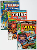 Modern Age (1980-Present):Superhero, Marvel Two-In-One Box Lot (Marvel, 1980-81) Condition: AverageVF/NM.... (Total: 2 Box Lots)