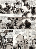 Original Comic Art:Panel Pages, Neal Adams Dracula Lives! #2 Page 5 Original Art (Marvel,1973)....