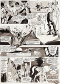Original Comic Art:Panel Pages, Neal Adams Dracula Lives! #2 Story Page 13 Original Art(Marvel, 1973)....