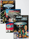 Modern Age (1980-Present):Science Fiction, Star Trek: The Next Generation Box Lot (DC, 1989-94) Condition:Average VF/NM.... (Total: 2 Box Lots)