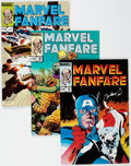 Modern Age (1980-Present):Superhero, Marvel Fanfare/Marvel Comics Presents Box Lot (Marvel, 1980s)Condition: Average VF/NM....