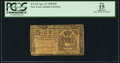 Colonial Notes:New York, New York April 15, 1758 £10 PCGS Apparent Fine 15.. ...