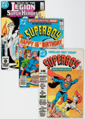 Modern Age (1980-Present):Superhero, Tales of the Legion of Super-Heroes/New Adventures of SuperboyGroup (DC, 1980s) Condition: Average VF/NM....