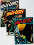 Golden Age (1938-1955):Science Fiction, Tom Corbett Space Cadet Group of 4 (Dell, 1952-54).... (Total: 4Comic Books)