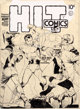Lou Fine Hit Comics #6 Cover Original Art (Quality, 1940)