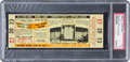 Baseball Collectibles:Tickets, 1958 Major League Baseball All Star Game Full Ticket, PSA EX 5 -1/1 Highest Graded!...
