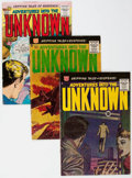 Silver Age (1956-1969):Horror, Adventures Into the Unknown Group of 13 (ACG, 1959-67) Condition:Average FN.... (Total: 13 Comic Books)