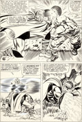 Original Comic Art:Panel Pages, Jack Kirby and Frank Giacoia (as Frankie Ray) Journey intoMystery #115 Thor Page 11 Original Art (Marvel, 1965)....