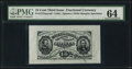 Fractional Currency:Third Issue, Fr. 1272SP 15¢ Third Issue Wide Face Specimen PMG Choice Uncirculated 64.. ...