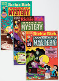 Bronze Age (1970-1979):Cartoon Character, Richie Rich Vault of Mystery File Copies Short Box Group (Harvey,1974-782) Condition: Average NM-....