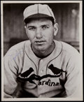 Baseball Collectibles:Photos, Dizzy Dean Signed Photograph....