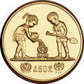 """China, China: People's Republic gold & silver """"Year of the Child"""" Proof Piefort Set 1979,... (Total: 2 coins)"""