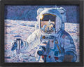 """Explorers:Space Exploration, Alan Bean Signed Limited Edition """"A New Frontier"""" Giclée Canvas,#58/150...."""