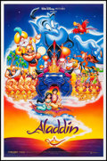 """Movie Posters:Animation, Aladdin & Others Lot (Buena Vista, 1992). One Sheets (3) (27"""" X 20"""" & 27"""" X 41"""") DS. Animation.. ... (Total: 3 Items)"""
