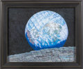 "Explorers:Space Exploration, Alan Bean Signed Limited Edition ""Way Way Up High Over Pad 39A""Giclée Canvas, #83/95. ..."